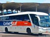 RS: Bandido assalta ônibus da Viação Unseul e foge na BR-290 na manhã desta segunda-feira
