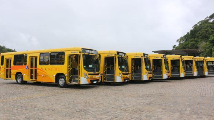 BA: Viametro renova parte de sua frota com 10 novos ônibus em Ilhéus