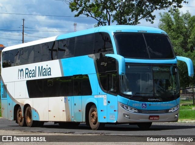 MA: Acidente entre carro e ônibus da Real Maia deixa um morto e dois feridos na BR-316