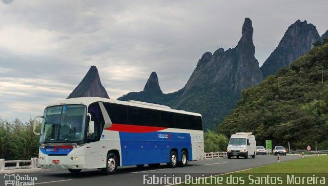 RJ: Acidente com ônibus da Viação Rio Doce e moto deixa um morto em Teresópolis