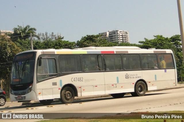 Passageiro acaba morto dentro de ônibus na Zona Oeste do Rio de Janeiro