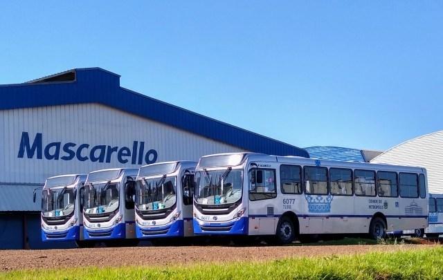 Turb Petrópolis renova parte de sua frota com ônibus Mascarello