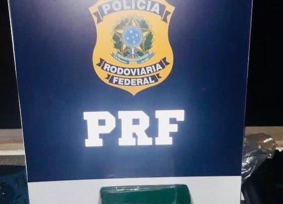 BA: PRF prende homem que transportava cocaína em ônibus na BR-116 durante fiscalização de rotina