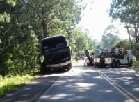 RS: Acidente com ônibus deixa 2 mortos e 16 feridos na Rota do Sol