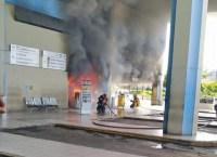 MG: Lanchonete da Rodoviária de Montes Claros pega fogo neste domingo