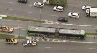 Ciclista acaba atropelado por ônibus na Zona Oeste de São Paulo