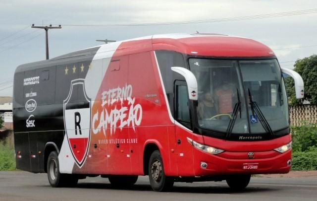 PI: Ônibus do River tem chave de ônibus furtada em Piripiri neste fim de semana