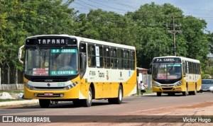 PM de Belém acaba baleando homem após ameaçar passageiros de ônibus com uma faca