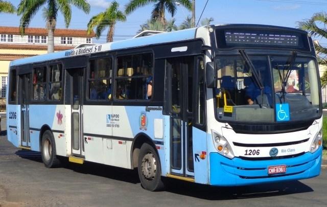 SP: Prefeitura de Rio Claro anuncia que ônibus irão operar com 30% da frota a partir desta sexta-feira