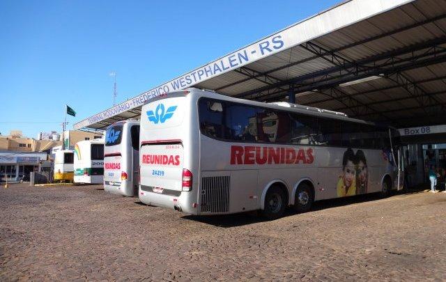 RS: Rodoviária de Frederico Westphalen reduz atendimento devido a redução de linhas de ônibus