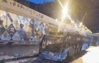 Ônibus do BRT é incendiado na Zona Norte do Rio neste fim de semana