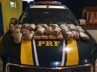 MT: Polícia Rodoviária Federal apreende diversos entorpecentes com passageiros de ônibus