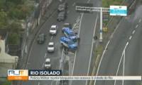 RJ: PRF informa que rodovias federais possuem bloqueios para conter a proliferação do coronavírus