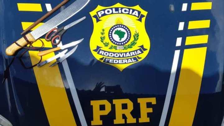 PRF prende homem que ameaçava mulher em ponto de ônibus no interior de São Paulo