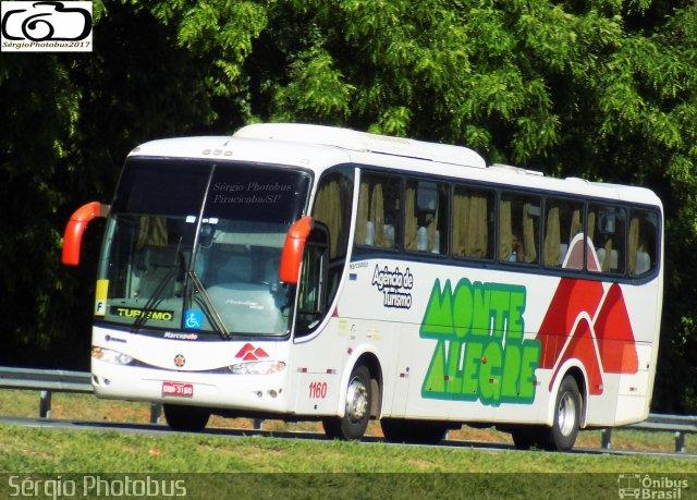 SP: Acidente com ônibus da Montes Alegre Turismo deixa um ferido em Piracicaba