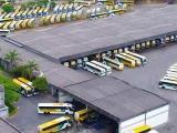 Garagem da Gontijo segue lotada em meio a paralisação do transporte no Brasil, devido ao novo coronavírus