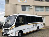 RS: Batalhão da Brigada Militar recebe micro-ônibus