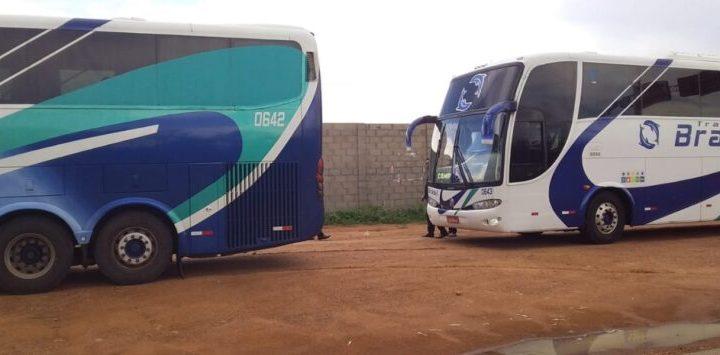 PI: PM realiza barreiras sanitárias e abordagens a ônibus