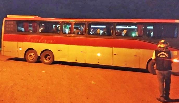 BA: Polícia apreende ônibus pirata vindo de São Paulo para Paratinga