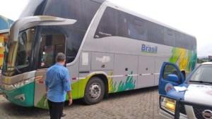 BA: Ônibus da Trans Brasil é retido na BR-116 nesta quarta-feira
