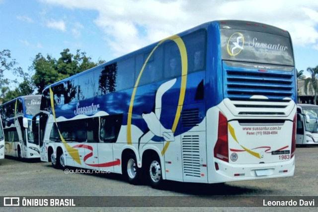 Sussantur renova parte de sua frota com modernos Vissta Buss DD
