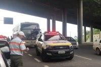 Mais um ônibus da Viação Presidente foi barrado de entrar em Belo Horizonte