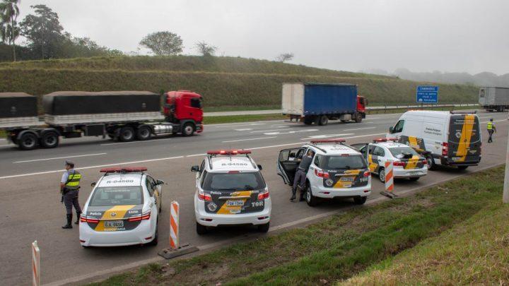 SP: Polícia Militar Rodoviária segue com a operação Tiradentes 2020