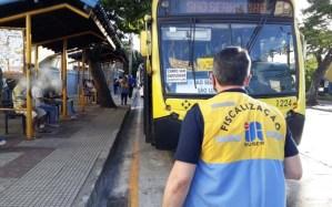 RJ: Volta Redonda segue fiscalização em ônibus durante a pandemia da Covid-19