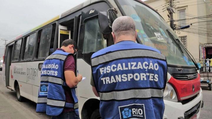 Prefeitura do Rio fiscaliza corredores do BRT e linhas convencionais