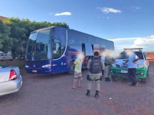ANTT apreende ônibus pirata com 39 passageiros no Sul do Piauí