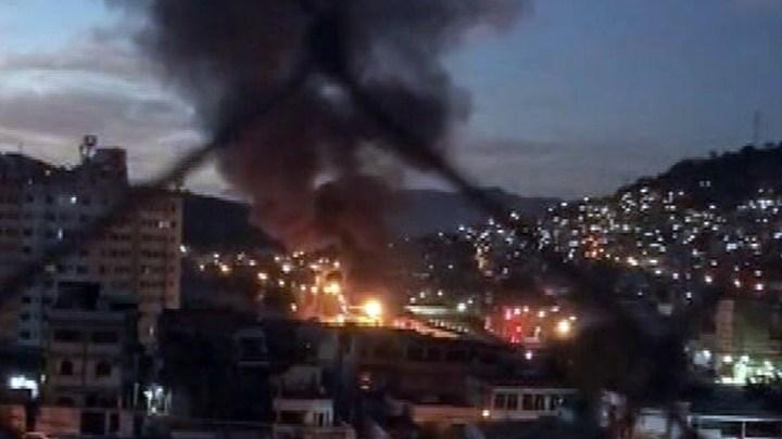Vídeo: Estação do BRT Rio e ônibus pegam fogo