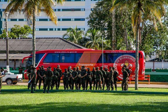 Rondônia reforça apoio logístico para testagem da Covid-19 com parceria da 17ª Brigada de Infantaria de Selva