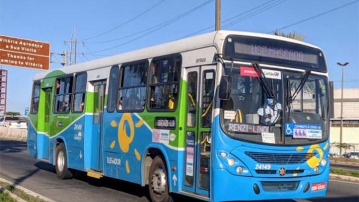 ES: Ônibus do Transcol é assaltado na Serra