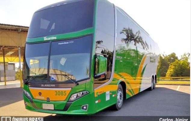 Tocantins Transportes renova com Busscar Jum Buss 400 Scania