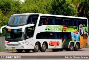 Vídeo: PRF apreende droga em ônibus da Eucatur durante abordagem na BR-364 no MT