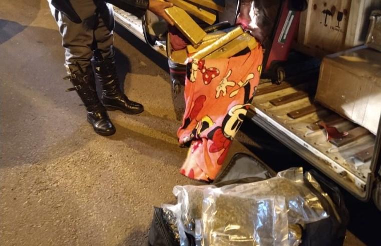 SP: Polícia Rodoviária apreende entorpecentes durante abordagem a ônibus na Rodovia Raposo Tavares