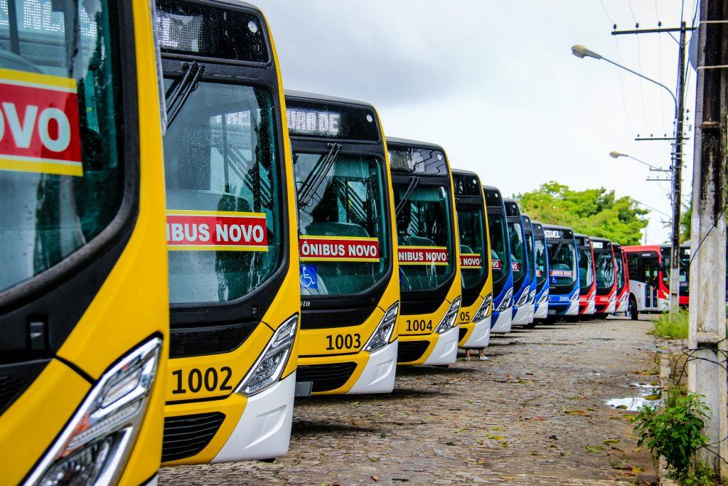 Maceió anuncia o retorno de 100% da frota de ônibus para esta segunda (20)
