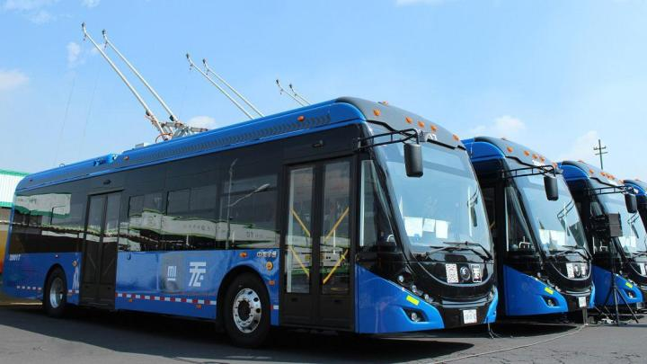 Vídeo: China exporta 130 ônibus trólebus para a Cidade do México