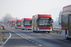 BYD entrega 150 novos ônibus elétricos ao Chile