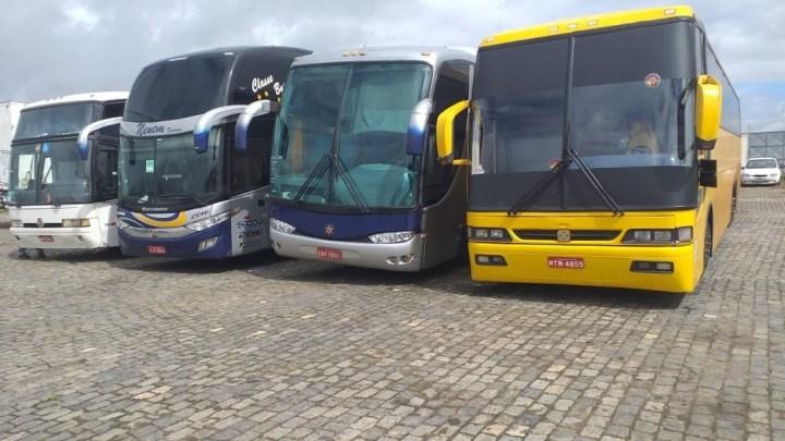 Bahia: Ação de fiscalização da ANTT apreende 14 ônibus clandestinos