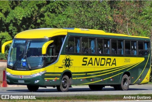 Viação Sandra renova com dois novos Paradiso G7 1050 Mercedes-Bens 0-500 RS
