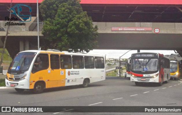 São Paulo registrou nesta manhã protesto de motoristas de vans e atrasos nos ônibus