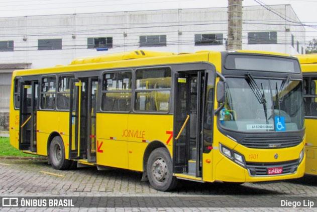 SC: Prefeitura de Joinville passa suspender o transporte coletivo por sete dias
