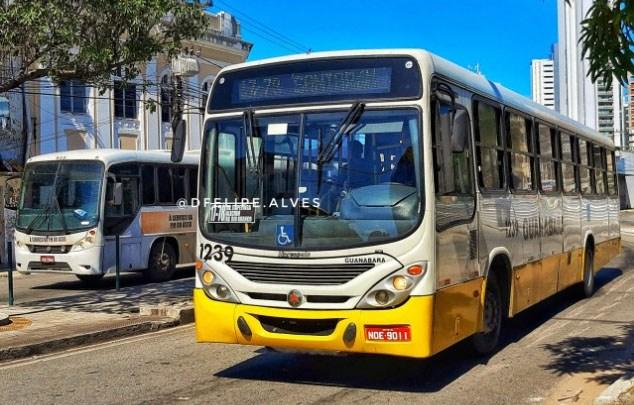Natal: Prefeitura determina de frota mínima de ônibus de 50% nas ruas