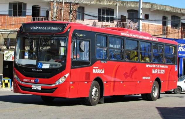 RJ: Passageira é assaltada em ônibus de Maricá