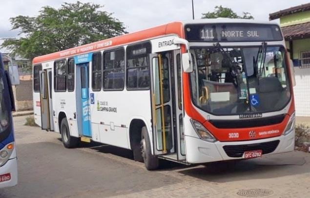 Campina Grande: Cidade segue com mais seis linhas de ônibus funcionando