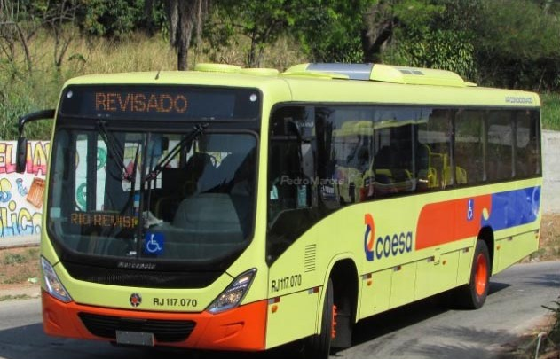 Coesa Transportes renova parte da frota com 12 ônibus Marcopolo Torino S