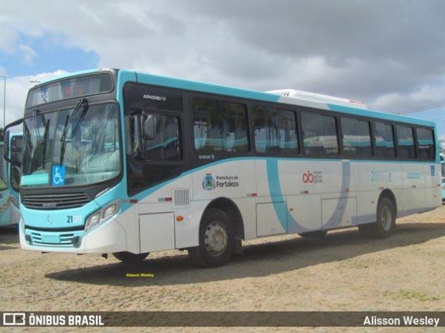 Aliança Transportes Urbanos adquire dois novos ônibus Apache Vip IV