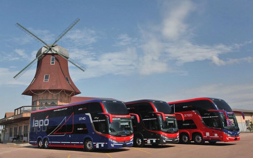 Viação Iapó renova parte de sua frota com ônibus Comil Invictus Volvo