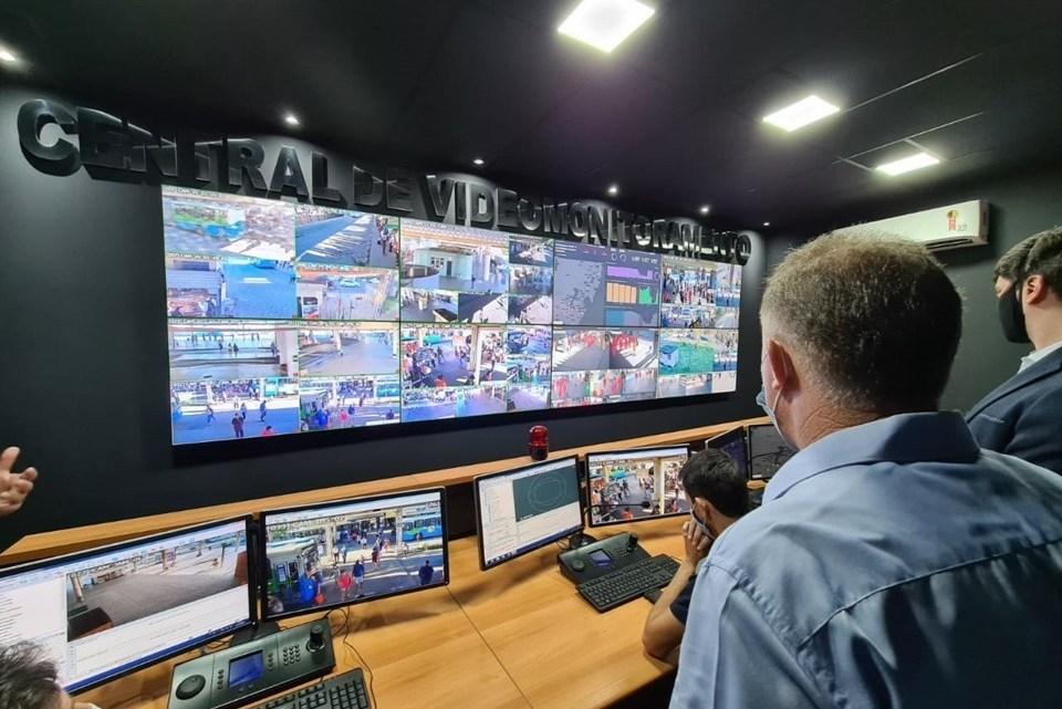 Vitória: Ceturb-ES inaugura nova central de videomonitoramento